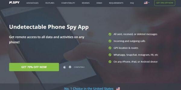 mSPY - for Snapchat story