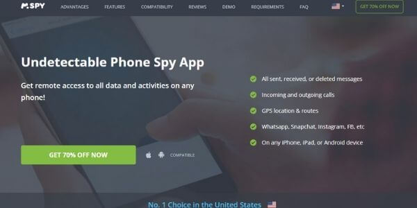 mSPY - Undetectable Phone Spy App