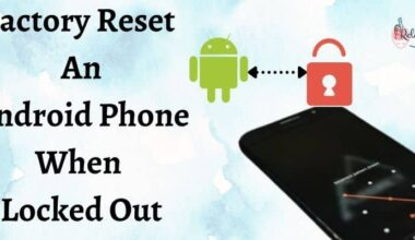 Factory Reset An Android Phone