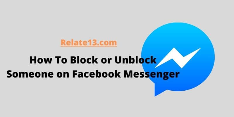 How to block or unblock someone on facebook messenger