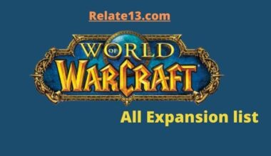 Wow Expansion list - World of Warcraft