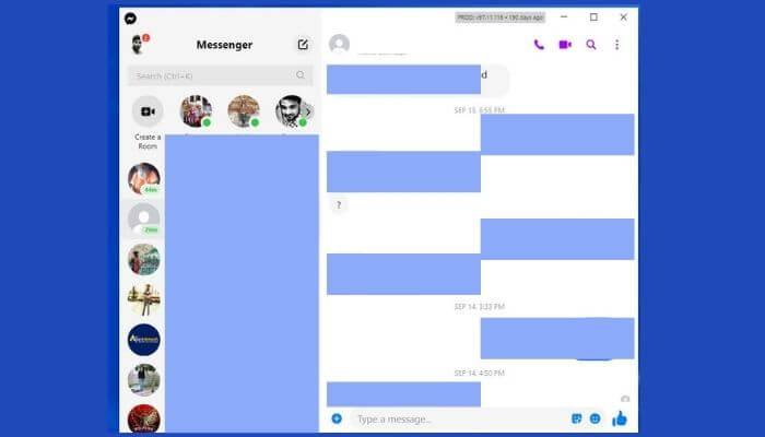 Desktop Messenger app